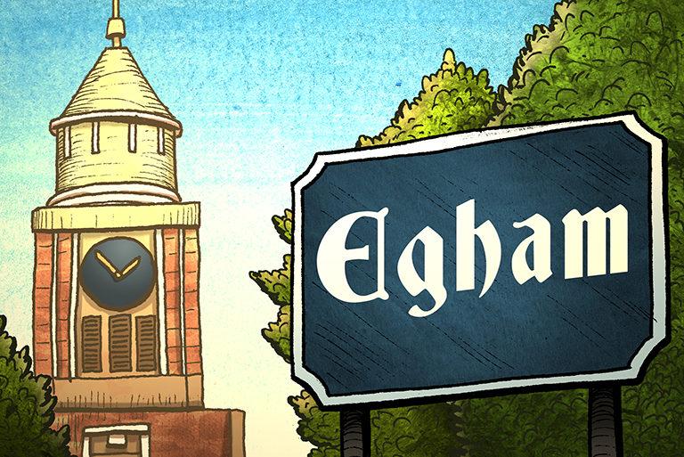 Visit Egham - illustrations-Egham-768