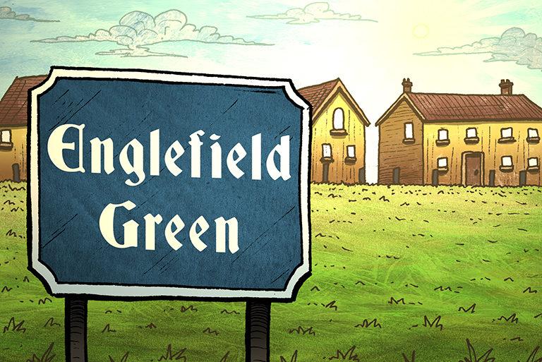 Visit Egham - illustrations-Englefield Green-768
